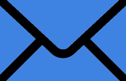 Icona Email Blu