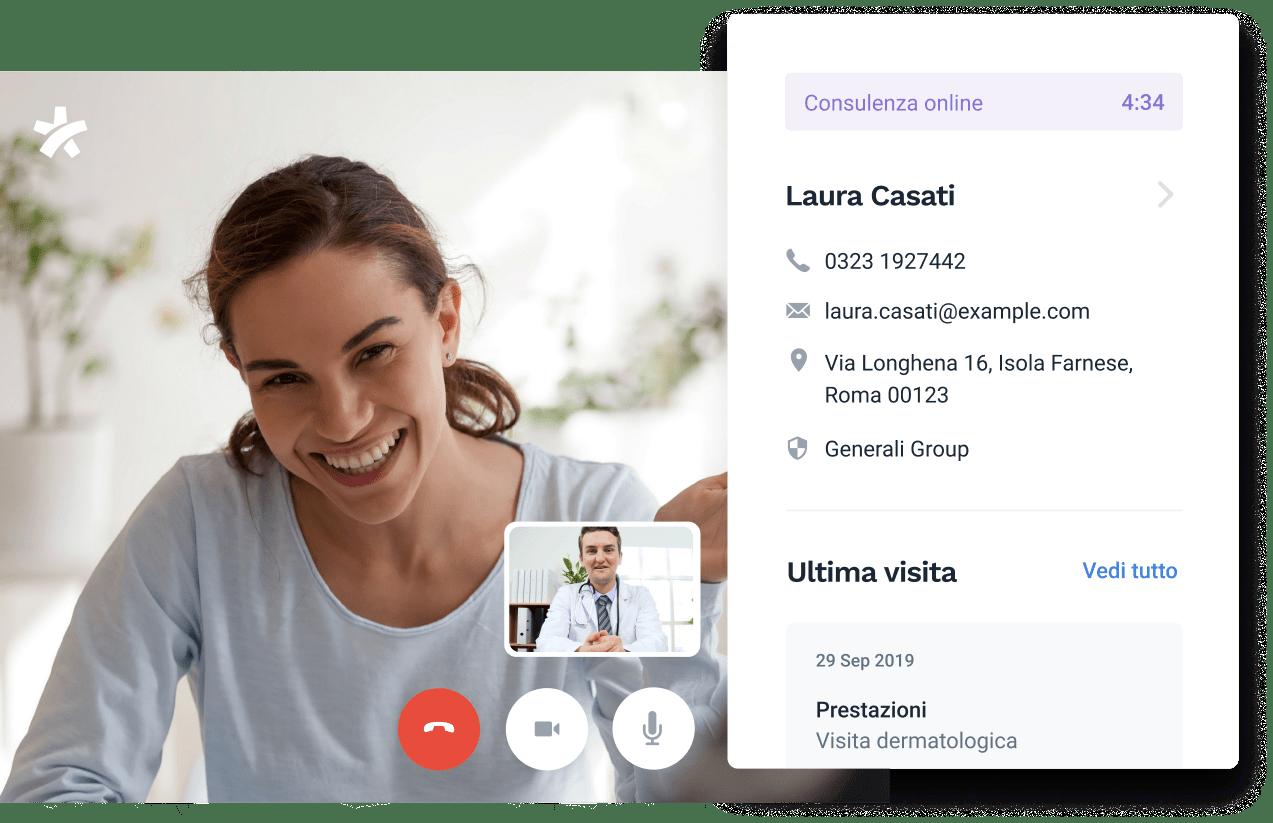 Uno strumenti per la consulenza online integrato e facile da usare