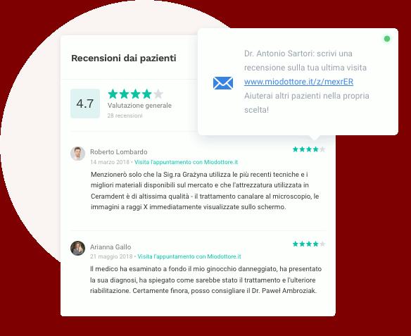Migliora la tua reputazione online