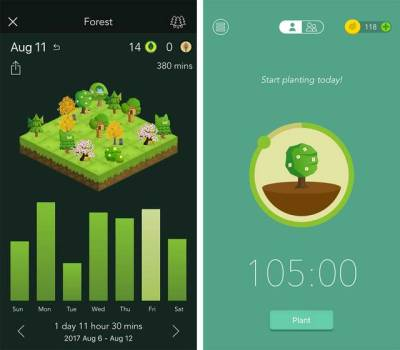 Forest app per appuntamenti medici